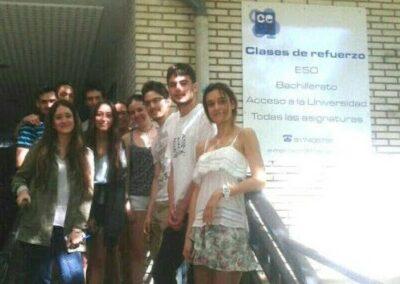 alumnos salida de clase centro de estudios cecp