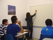 aulas con alumnos