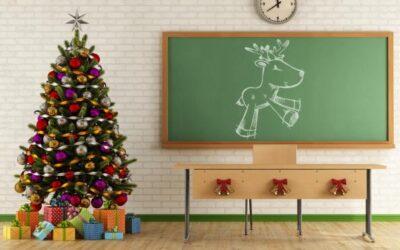Clases en Navidad 🎄